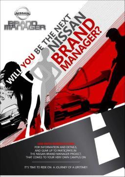 Nissan Student Brand Manager Program