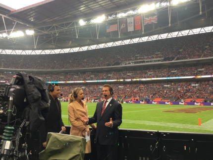 NFL London Games TV Interview - Joe Theismann