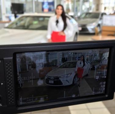 Toyota TV Shoot