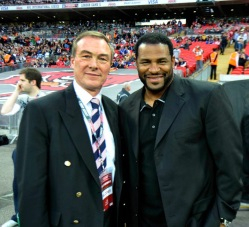 NFL London Games - Nick Priestnall & Jerome Bettis