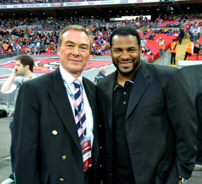 NFL London Games - Nick Priestnall & Jerome Bettis