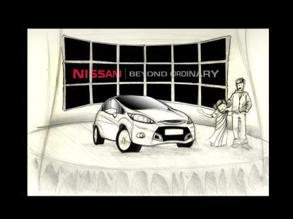 Nissan TV Storyboard