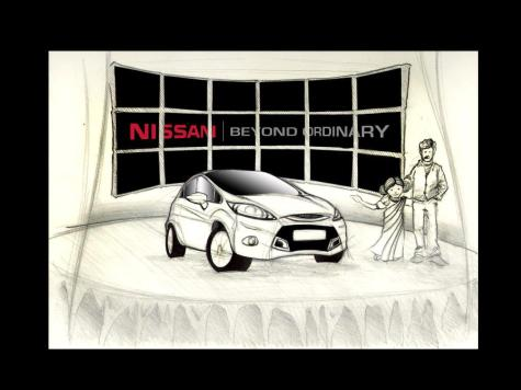 Nissan TV Storyboard