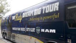 Rudy Ruettiger Dream Big Book Tour