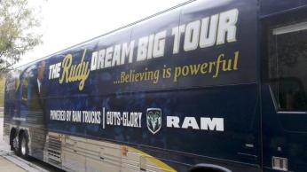Rudy Ruettiger Dream Big Book Tour