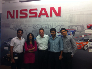 Nissan India Student Brand Manager Program