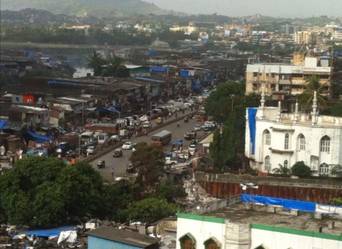 View From Mumbai Office
