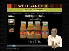 Wolfgang Puck Iced Coffee