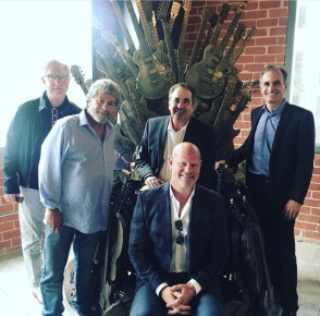 Rhino in Los Angeles with top bosses from sports, media & entertianment