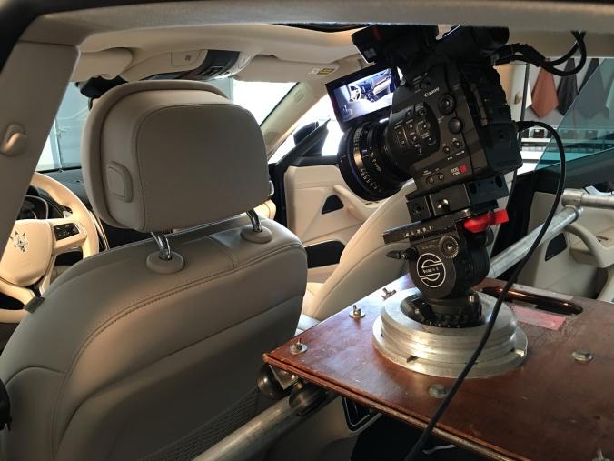 Rhino Marketing Shooting Maserati Levante Commercial