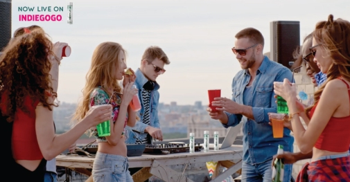 Sober Up launch on Indiegogo