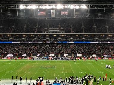 Seahawks VS Raiders in London